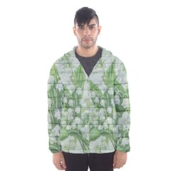 On Wood May Lily Of The Valley Hooded Wind Breaker (Men)