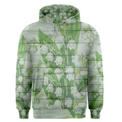 On Wood May Lily Of The Valley Men s Pullover Hoodie