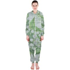 On Wood May Lily Of The Valley Hooded Jumpsuit (Ladies)