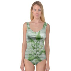 On Wood May Lily Of The Valley Princess Tank Leotard