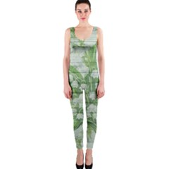 On Wood May Lily Of The Valley OnePiece Catsuit