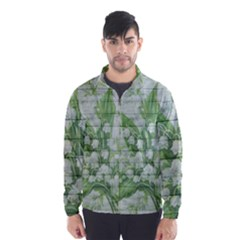 On Wood May Lily Of The Valley Wind Breaker (men)