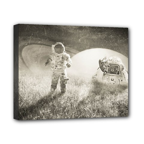 Astronaut Space Travel Space Canvas 10  X 8