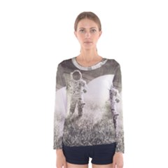 Astronaut Space Travel Space Women s Long Sleeve Tee