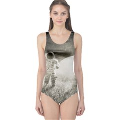 Astronaut Space Travel Space One Piece Swimsuit