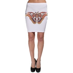 Butterfly Animal Insect Isolated Bodycon Skirt