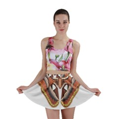 Butterfly Animal Insect Isolated Mini Skirt