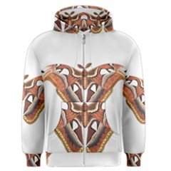 Butterfly Animal Insect Isolated Men s Zipper Hoodie