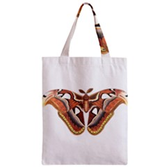 Butterfly Animal Insect Isolated Zipper Classic Tote Bag
