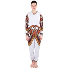 Butterfly Animal Insect Isolated OnePiece Jumpsuit (Ladies)