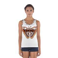 Butterfly Animal Insect Isolated Women s Sport Tank Top