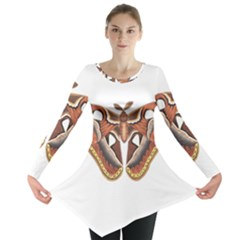 Butterfly Animal Insect Isolated Long Sleeve Tunic