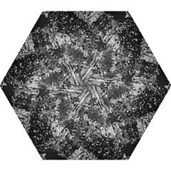 Fern Raindrops Spiderweb Cobweb Mini Folding Umbrellas