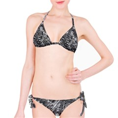 Fern Raindrops Spiderweb Cobweb Bikini Set