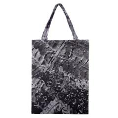 Fern Raindrops Spiderweb Cobweb Classic Tote Bag