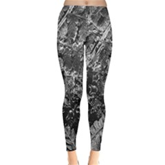 Fern Raindrops Spiderweb Cobweb Classic Winter Leggings