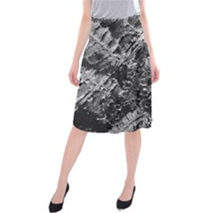 Fern Raindrops Spiderweb Cobweb Midi Beach Skirt