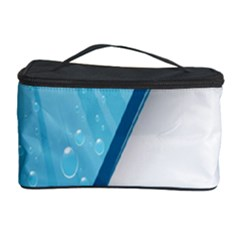 Water Bubble Waves Blue Wave Cosmetic Storage Case
