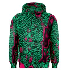 Reaction Diffusion Green Purple Men s Pullover Hoodie