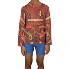 Works From The Local Kids  Long Sleeve Swimwear