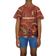 Works From The Local Kids  Short Sleeve Swimwear