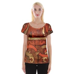Works From The Local Women s Cap Sleeve Top
