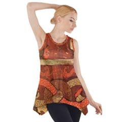 Works From The Local Side Drop Tank Tunic