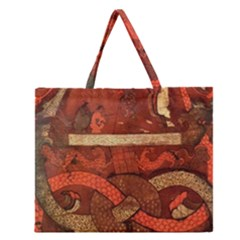 Works From The Local Zipper Large Tote Bag