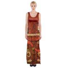 Works From The Local Maxi Thigh Split Dress