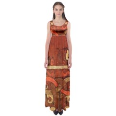 Works From The Local Empire Waist Maxi Dress
