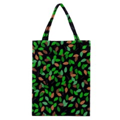 Leaves True Leaves Autumn Green Classic Tote Bag