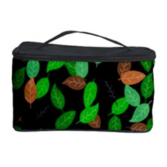 Leaves True Leaves Autumn Green Cosmetic Storage Case