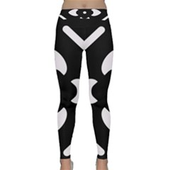 Pattern Background Classic Yoga Leggings