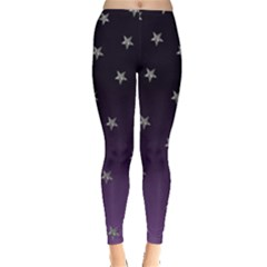 Purple Ombre Stars