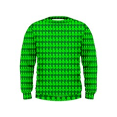 St  Patricks Day Green Kids  Sweatshirt