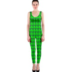 St  Patricks Day Green OnePiece Catsuit