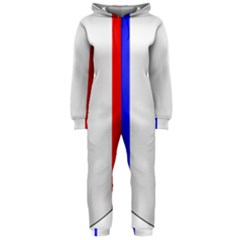 Shield on the French Senate Entrance Hooded Jumpsuit (Ladies)