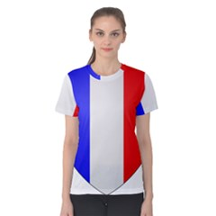 Shield on the French Senate Entrance Women s Cotton Tee