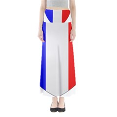 Shield on the French Senate Entrance Maxi Skirts