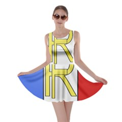 Semi-Official Shield of France Skater Dress