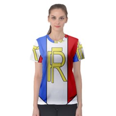 Semi-Official Shield of France Women s Sport Mesh Tee