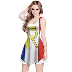 Semi-Official Shield of France Reversible Sleeveless Dress
