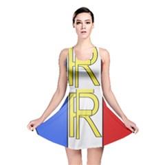 Semi-Official Shield of France Reversible Skater Dress