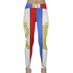 Semi-Official Shield of France Classic Yoga Leggings