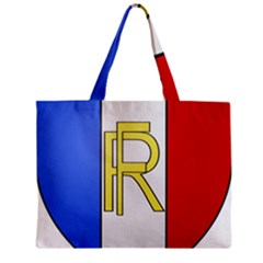 Semi-Official Shield of France Zipper Mini Tote Bag