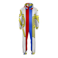 Semi-Official Shield of France Hooded Jumpsuit (Kids)