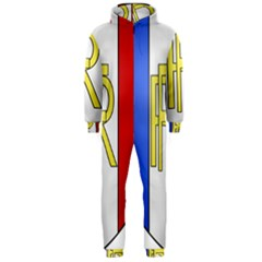 Semi-Official Shield of France Hooded Jumpsuit (Men)