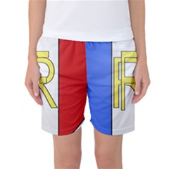Semi-Official Shield of France Women s Basketball Shorts