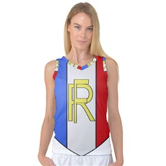 Semi-Official Shield of France Women s Basketball Tank Top