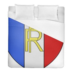 Semi-Official Shield of France Duvet Cover (Full/ Double Size)